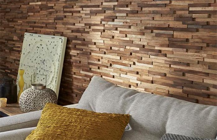 slika Drveni zidovi